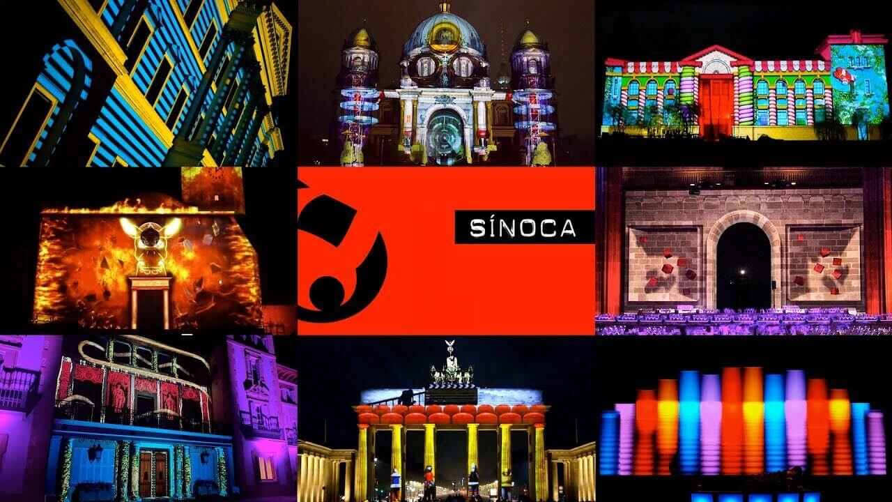Video Mapping a Barcelona | Sinoca Studio