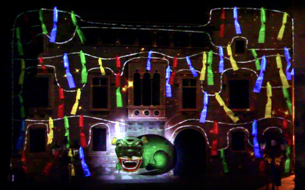 VIDEO MAPPING DE LA FESTA MAJOR DE VILAFRANCA 2018