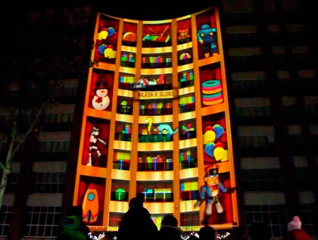 MAGI NIGHT WITH MAPPING IN SANT ADRIÀ DE BESÒS