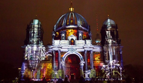 Harmonie, video mapping sobre la Catedral de Berlín