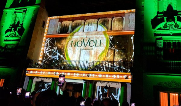VIDEO MAPPING 60 ANIVERSARI CAFÈS NOVELL
