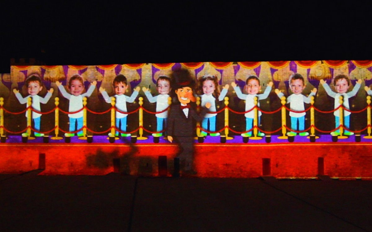 VIDEO MAPPING DE NAVIDAD HOSPITALET DE L'INFANT