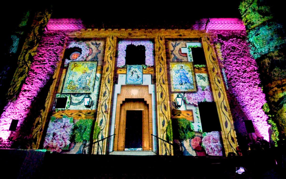 El Convent de Blanes & Nandu Jubany video mapping