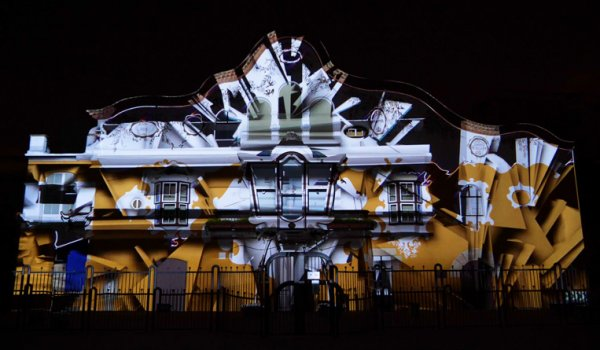 Video mapping 140th anniversary Jujol