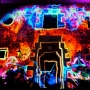 Fiesta con video mapping en El Convent de Blanes