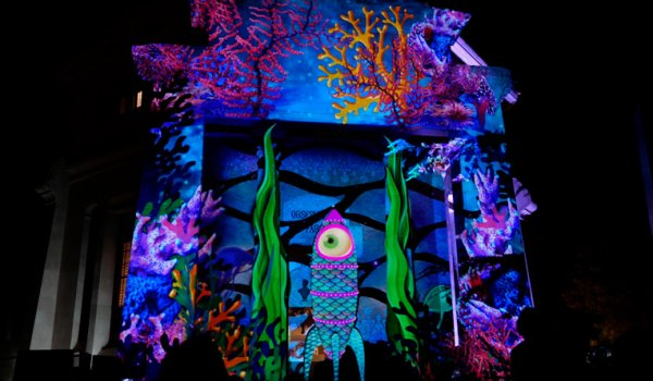 Video Mapping en event impressió 3D