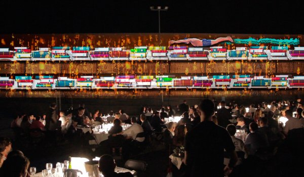 Cena del Empresario UEA video mapping
